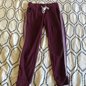 Old Navy Striped Joggers